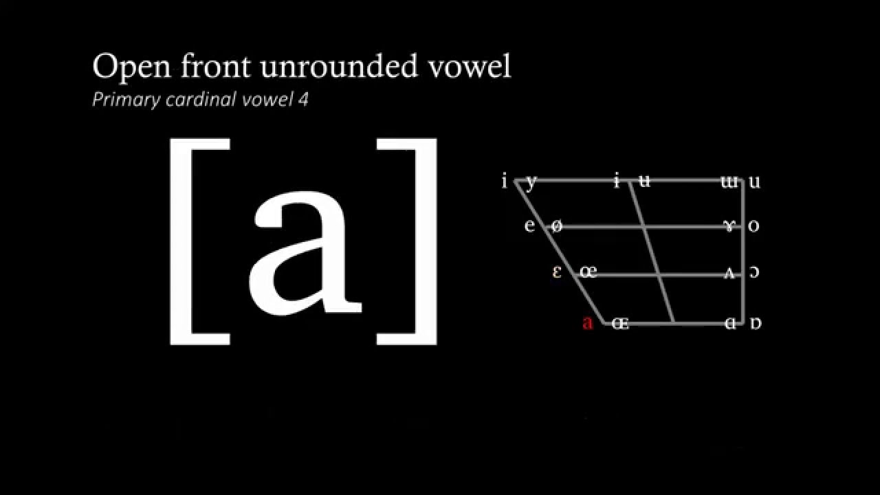 vowels cardinal vowel Return to the ipa chart vowel chart to hear the sounds click on a symbol peter ladefoged primary cardinal vowels and secondary cardinal vowels.
