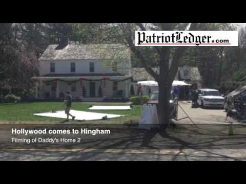 Hollywood Comes To Hingham As Stars Film Daddy S Home 2 Youtube