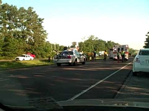 Accident on I-55 NB in Mississippi