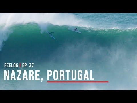 Nazaré, Portugal - Campeonato de Ondas Grandes