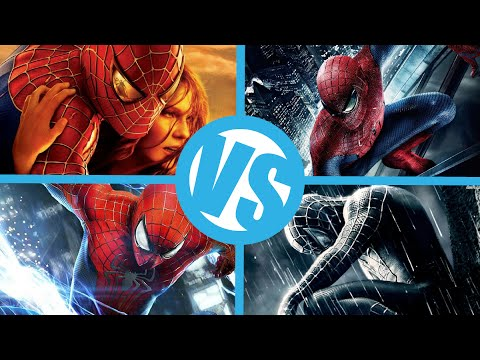 SpiderMan 2 VS 3 VS Amazing SpiderMan 1 VS 2 : Movie Feuds Comic Bracket ep6