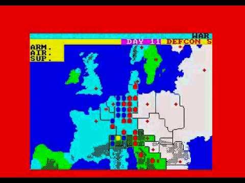 Theatre Europe -- NATO victory (ZX Spectrum)