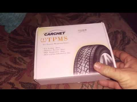 Carchet TPMS Tire Pressure Monitoring System Max 85PSI