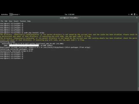 python ImportError: No module named scipy