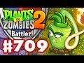 Battlez! Wasabi Whip Epic Quest! - Plants vs. Zombies 2 - Gameplay Walkthrough Part 709