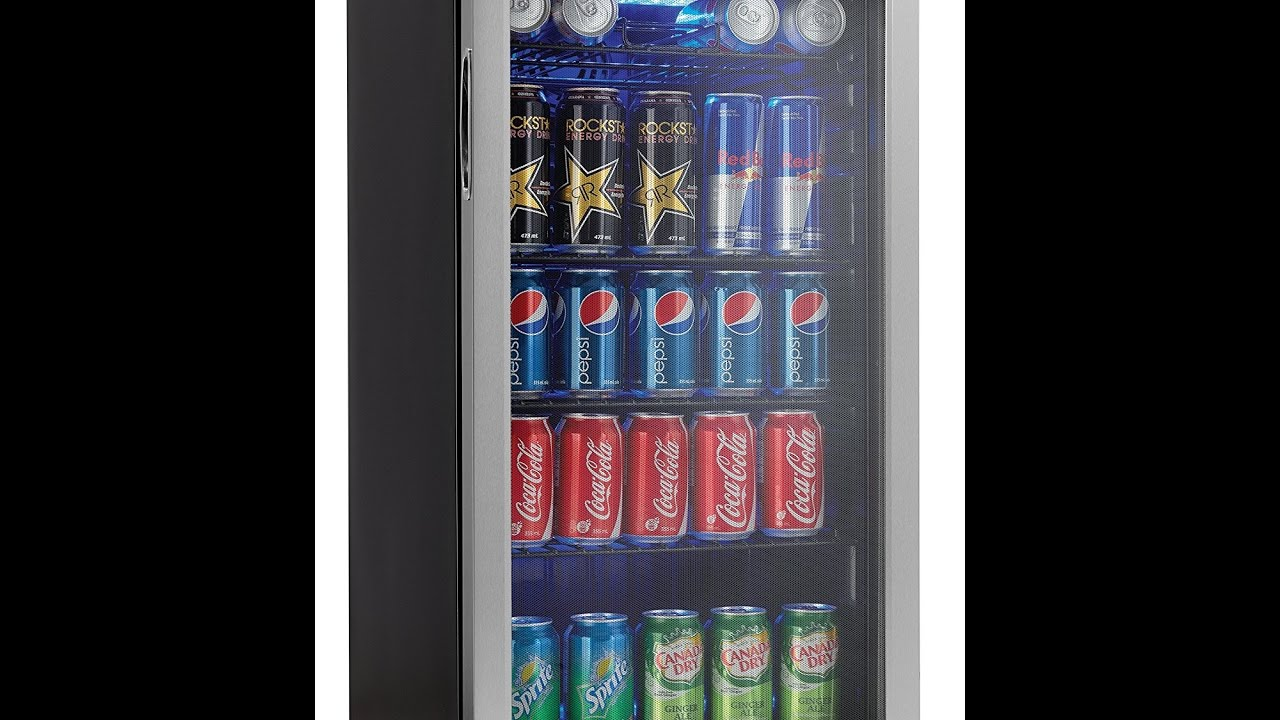 Review Danby 120 Can Beverage Center Stainless Steel DBC120BLS