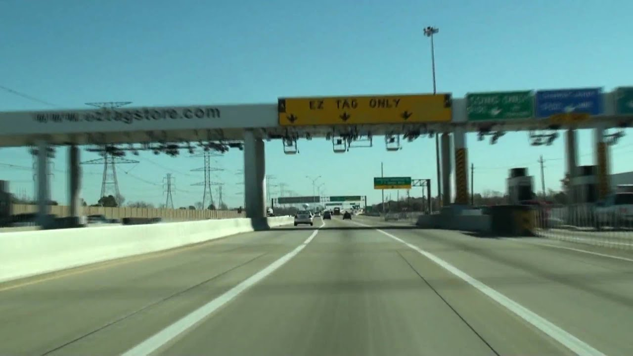 Sam Houston Toll Road Nw Beltway 8 Youtube