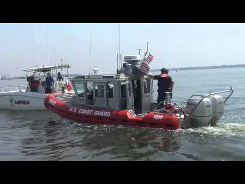 Coast Guard Conducts Training Near Portsmouth VA