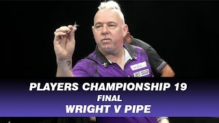 Wright v Pipe - Final - Players Championship 19