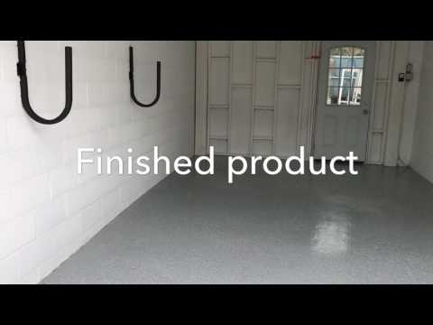 Garage painting & epoxy floor Toronto