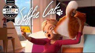 【影片 | 動畫 | 短片】Selfie Cat | 與貓自拍 | 自分撮り猫