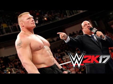 WWE 2K17 Full Conference Call with Paul Heyman - Release Dat