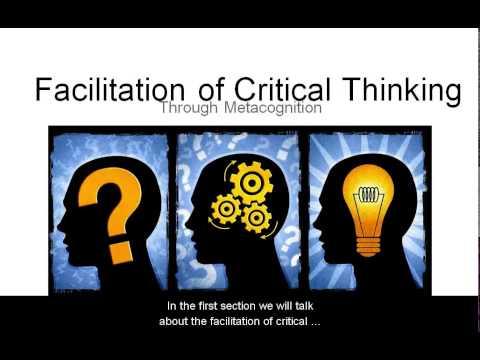 Critical Thinking Study Skills Workshop