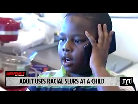 Adult Uses Racial Slurs At A Child Over The Phone