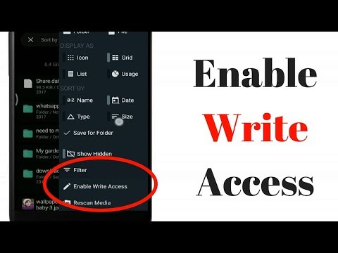 [Fixed] Enable Write Access Permission In Android Device Without Root | TecHelper