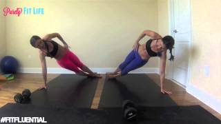 10 Min Ab Workout with Purely Twins