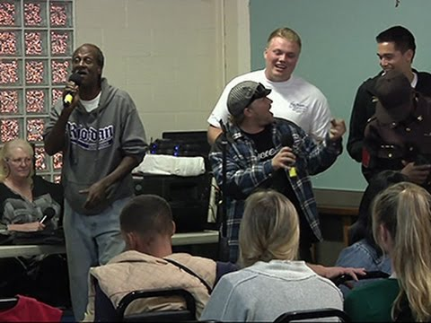 Saving Lost Souls on LA's Skid Row With Karaoke