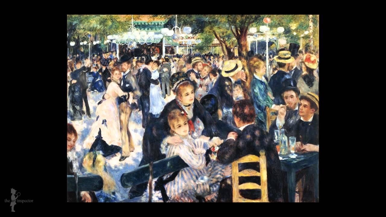 Pierre Auguste Renoir - Bal du moulin de la Galette - YouTube