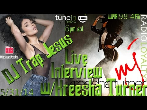 Kreesha Turner Interview on WPIR 98.4Fm