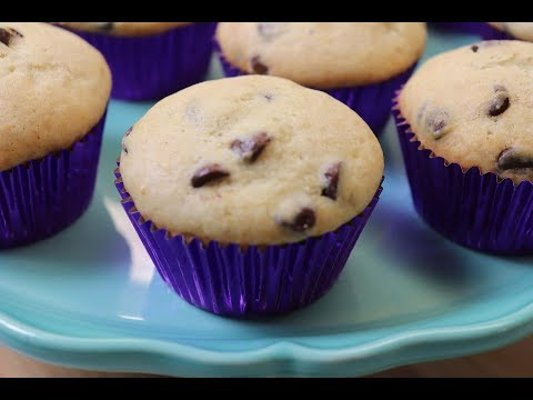 Sour Cream Chocolate Chip Muffins!  Ep #240