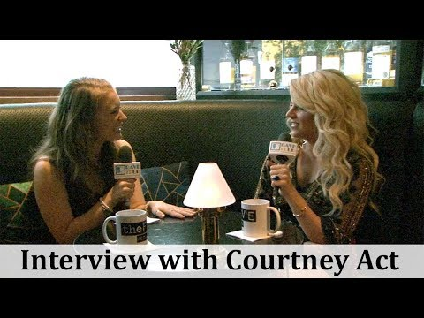 Interview with Australian Drag Queen, Courtney Act