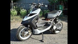 Yamaha jog на 12 колёсах / Донор Stels Vortex 50 /Часть#1