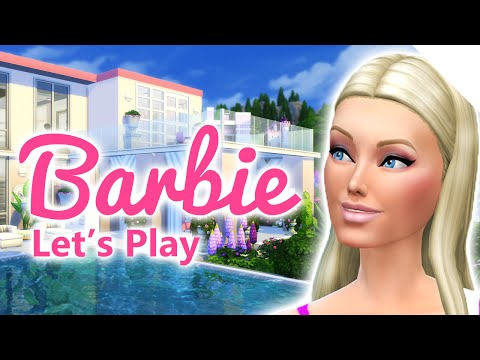 Let's play The Sims 4 Barbie | HENS NIGHT,  BUCKS PARTY | S0218