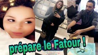 Sarah Fraisou fais le ramadan ! Elle prépare le Fatour !!