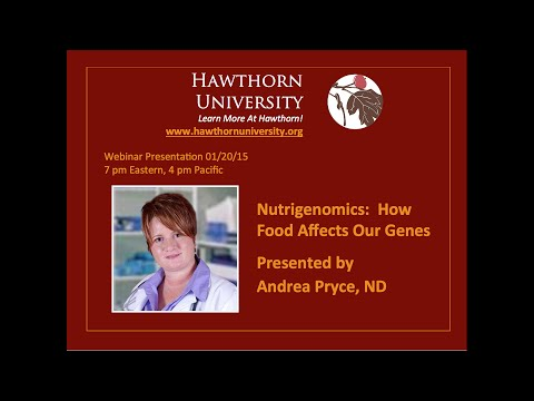 Nutrigenomics:  How Food Affects Our Genes