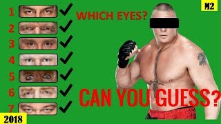 Can You Gues Which WWE Superstars EYES? [HD]