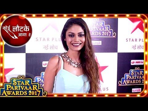 Koi Laut ke Aaya Hai Fame Shreejita De And Shaleen Malhotra At Star Parivaar Awards 2017