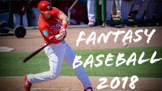 FANTASY BASEBALL 2018 DRAFT STRATEGY FOR THE MLB JUICED BALL ERA