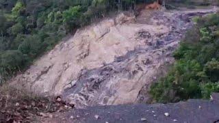 ആനത്തോട് അണക്കെട്ടിന് സമീപം മണ്ണിടിച്ചില് ; സുരക്ഷാഭീഷണി  | Anathode dam Land Slide
