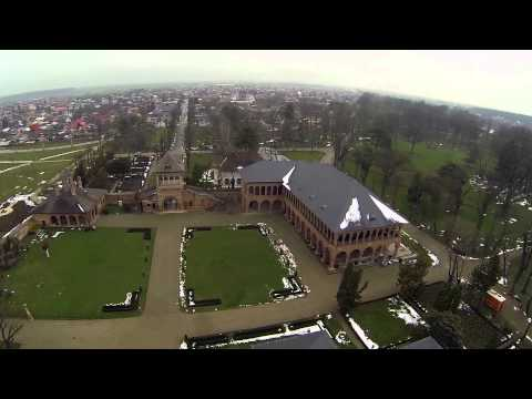 Romanian Castles from above