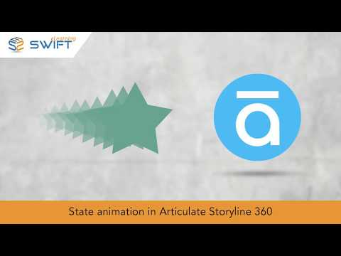 State Animation in Articulate Storyline 360 - How To Add Animations To Images or Shapes
