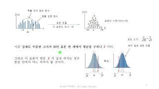 통계15-크기가 작은 표본으로부터 모 평균 추정(모집단…