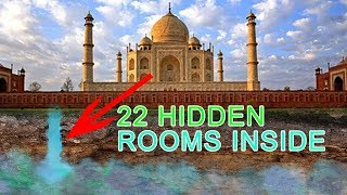 Hidden Secrets of Taj Mahal 22 Mysterious Locked Rooms Inside - OPENED