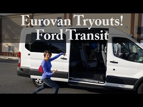 2017 ford transit test drive eurovan rv tryouts youtube. Black Bedroom Furniture Sets. Home Design Ideas