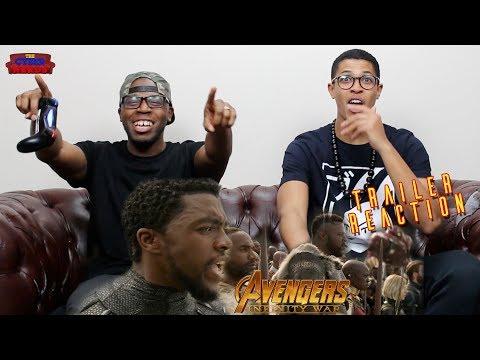 Avengers Infinity War Chant TV Spot Reaction