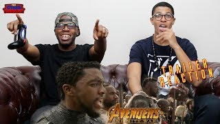 Avengers Infinity War Chant TV Spot Reaction