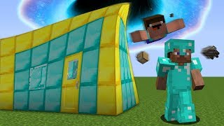 Noob vs Pro : SECRET BUNKER vs BLACK HOLE in Minecraft Battle