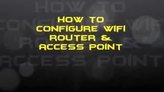 How To Configure WIFI Router & Access Point | 3 Simple Steps [Hindi]