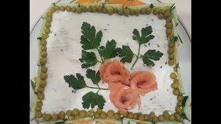 Закусочный торт к любому празднику.