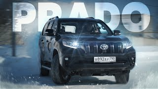 Новый Toyota Land Cruiser Prado.Тест-драйв.Anton Avtoman.