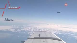 су 27 отогнал истребитель нато от самолета шойгу над балтикой