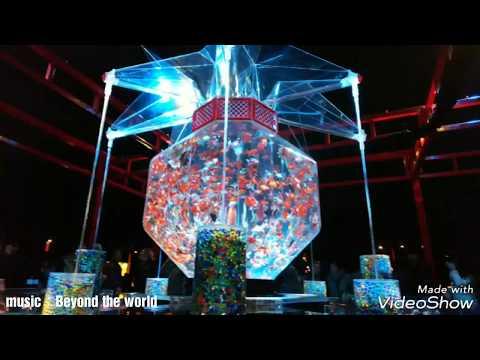 Art aquarium castle ~ Mai of Kyoto · Goldfish / Music and video collaboration
