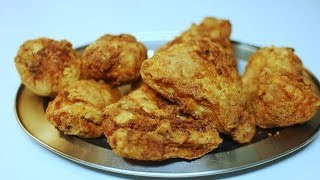 Crispy Fried Chicken ( Southern Style ): Simple , Quick & Easy.