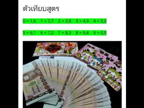 สูตรการคิดหวยหุ้นไทย ปิดเย็น