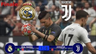 Real Madrid Vs Juventus Finale di Champions League (Calci di Rigore) | PES 2019 Patch [Giù]