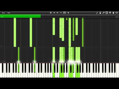 Eve Online - Below The Asteroids Synthesia Piano MIDI
